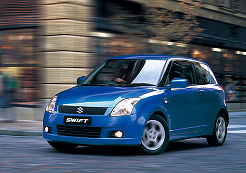 Histoire de la Suzuki Swift